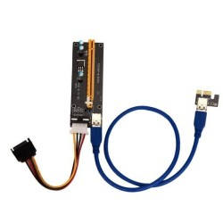 Riser PCI-e 1X vers 16x USB 3.0