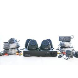 KIT Caméra de surveillance 4 Caméras avec DVR
